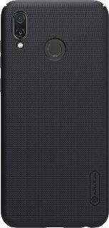 Пластиковая накладка для Huawei Honor Play Nillkin черная фото
