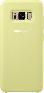 Силиконовая накладка для Samsung Galaxy S8 Plus Silicone Cover код 17 салатовая фото