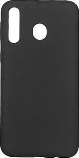 Силиконовая накладка для Samsung Galaxy M30 Cabal черная фото