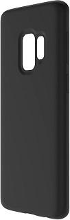 Силиконовая накладка для Samsung Galaxy S9 Cabal черная фото