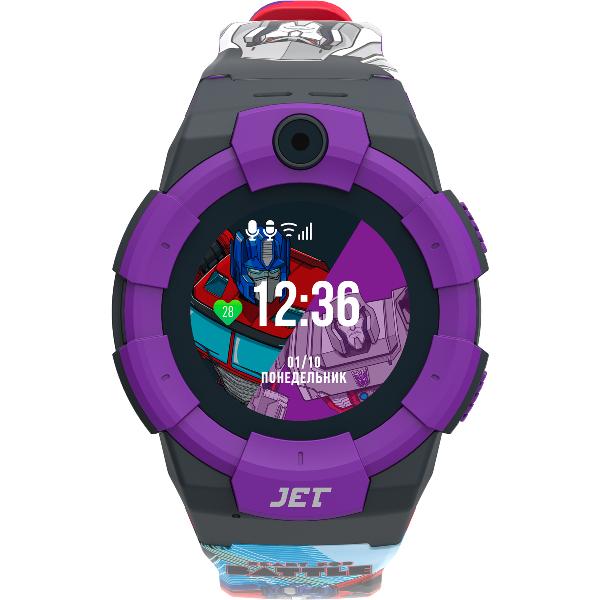 Часы Jet Kid Transformers Megatron vs Optimus Prime