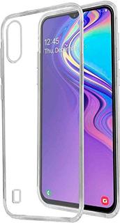 Силиконовая накладка для Samsung Galaxy А20/A30 прозрачная фото