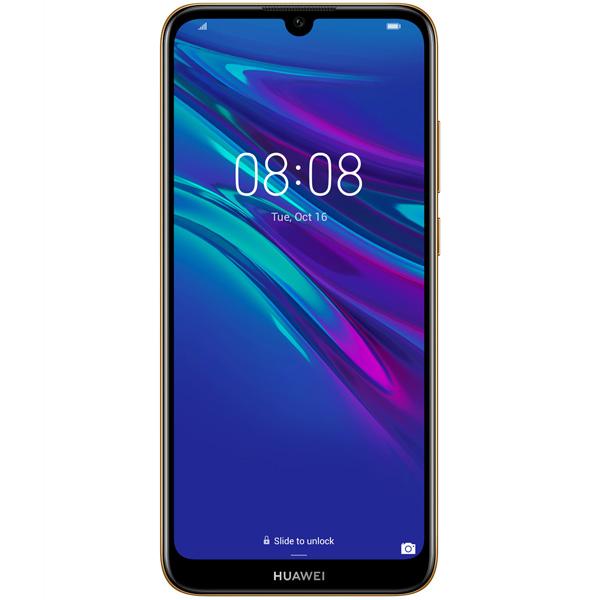 Мобильный телефон Huawei Y6 (2019) янтарный коричневый фото