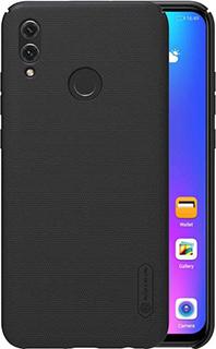 Пластиковая накладка для Huawei Honor 10 Lite Nillkin черная фото