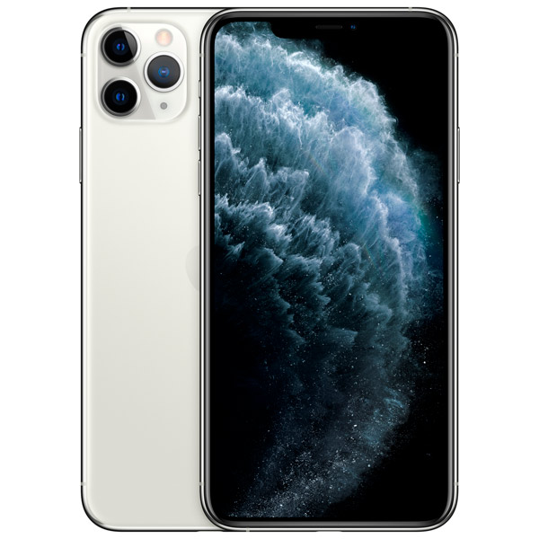 Мобильный телефон Apple iPhone 11 Pro Max 64GB A2220 silver (серебристый) фото