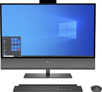 "Моноблок HP Envy 32-a1006ur AiO 31.5"" 3840x2160/Core i7 10700 2.9Ghz/32Gb/2Tb+1000PCISSD/noDVD/Ext:RTX 2080 Super 8Gb/Cam/WiFi/w1y/Nightfall black /W10 + kbd/mouse (199X6EA)"