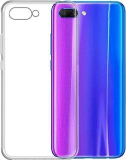 Силиконовая накладка для Huawei Honor 10 прозрачная фото