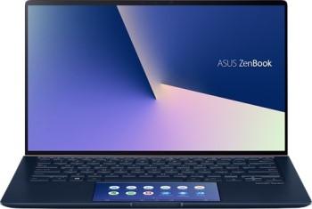 Фото - Ноутбук Asus ZenBook UX434FQ-A6072T + bag+cable 14 1920x1080 IPS/Core i5 10210U 1.6Ghz/8Gb/512SSD/noDVD/Ext:GF MX350 2Gb/Cam/BT/WiFi/w1y/1.26kg/RoyalBlue/W10 + ScreenPad (90NB0RM1-M00960) ноутбук msi modern 14 b10rasw 021ru 14 1920x1080 мат ips core i5 10210u 1 6ghz 8gb 512pcissd nodvd ext gf mx330 2gb cam bt wifi w1y 1 2kg black w10 9s7 14d111 021