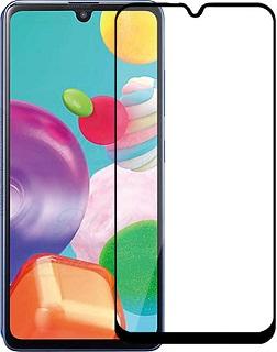 Защитное стекло для Samsung A 41 Cabal полноэкранное черное фото