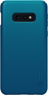 Пластиковая накладка для Samsung Galaxy S10e Nillkin синяя фото