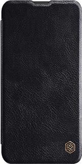 Кожаный чехол для Samsung Galaxy M10 Nillkin черный фото