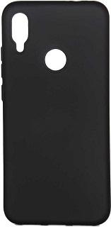 Фото - Силиконовая накладка для Xiaomi Redmi 7 Cabal черная ультратонкий силиконовый чехол накладка для xiaomi redmi 7 с принтом нежные цветы