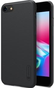 Пластиковая накладка для iPhone 7/8 Nillkin черная фото