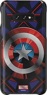 Пластиковая накладка для Samsung Galaxy S10e Friends MARVEL Captain America