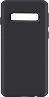 Силиконовая накладка для Samsung Galaxy S10 Plus Cabal черная фото