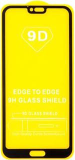 Защитное стекло для Huawei Honor 10 9D полноэкранное черное в техпаке фото