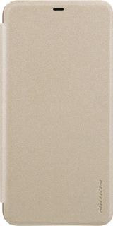 Чехол-книжка для Xiaomi Redmi Note 6 Pro Nillkin золотая фото