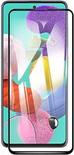 Защитное стекло для Samsung A51 Cabal полноэкранное черное фото