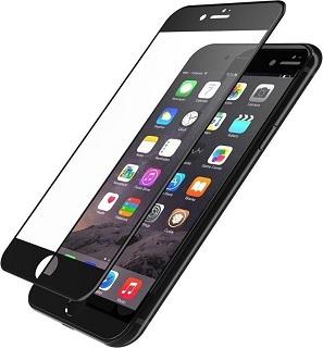 Защитное стекло для iPhone 7/8/SE (2020) полноэкранное черное