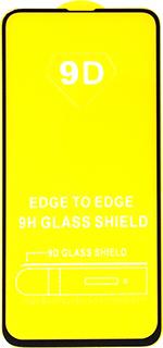 Защитное стекло для Huawei Nova 4e 9D полноэкраное черное в техпаке фото