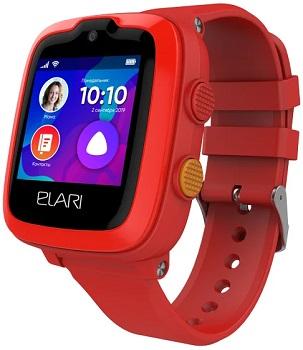 Часы Elari KidPhone 4G красный