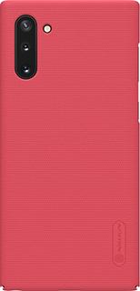 Пластиковая накладка для Samsung Galaxy Note 10 Nillkin красная фото
