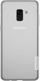 Силиконовая накладка для Samsung Galaxy A8+/A730F Nillkin прозрачная фото