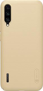 Пластиковая накладка для Xiaomi Mi А3 Nillkin золотая фото
