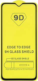 Защитное стекло для OnePlus 6Т 9D полноэкранное черное в техпаке фото