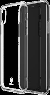 Силиконовая накладка для iPhone X/XS прозрачная фото