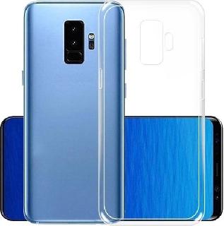 Силиконовая накладка для Samsung Galaxy S9 Plus прозрачная фото