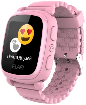 Часы ELARI KidPhone 2 розовый