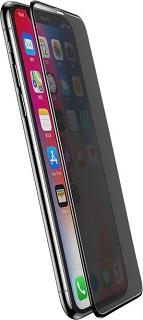 Защитное стекло для iPhone X/XS Baseus конфиденциальное полноэкранное черное фото