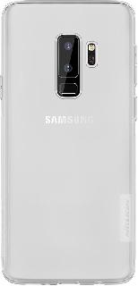 Силиконовая накладка для Samsung Galaxy S9 Plus Nillkin прозрачная фото