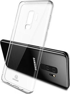 Силиконовая накладка для Samsung Galaxy S9 Plus Usams Kingdom Series фиолетовый кант фото
