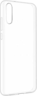 Силиконовая накладка для Huawei P20 прозрачная фото