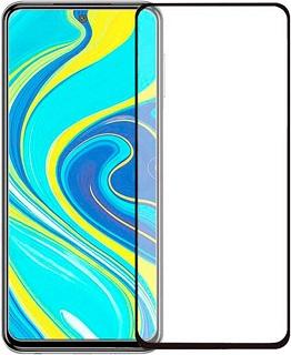 Защитное стекло для Xiaomi RedMi Note 9S Cabal полноэкранное черное фото