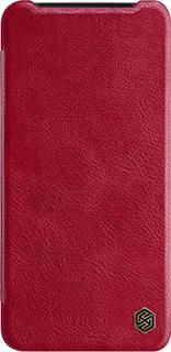 Кожаный чехол для OnePlus 7T Nillkin красный