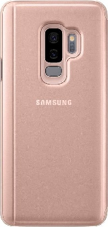 Чехол-книжка для Samsung Galaxy S9 Plus Clear View Standing Cover золотой