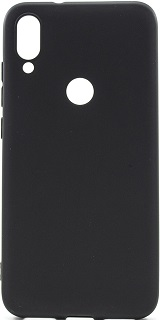 Силиконовая накладка для Xiaomi Mi Play Cabal черная фото