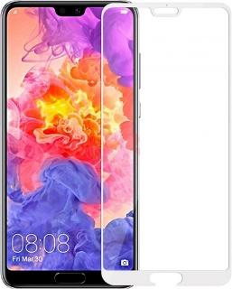 Защитное стекло для Huawei Honor 10 полноэкранное белое в техпаке фото