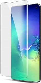 Защитное стекло для Samsung Galaxy S10 Bolly УФ прозрачное