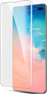 Защитное стекло для Samsung Galaxy S10 Plus Bolly УФ прозрачное фото