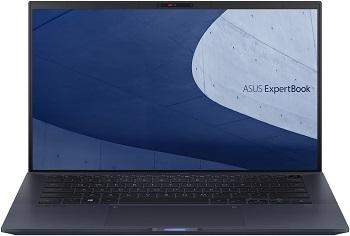 Фото - Ноутбук Asus Expertbook B9450FA-BM0341 66Вт/ч бат+bag+cable 14 1920x1080 мат IPS/Core i5 10210U 1.6Ghz/8Gb/512SSD/noDVD/Int:UHD Gr-cs/Cam/BT/WiFi/w1y/0.99kg/Black/DOS (90NX02K1-M08240) ноутбук msi modern 14 b10rasw 021ru 14 1920x1080 мат ips core i5 10210u 1 6ghz 8gb 512pcissd nodvd ext gf mx330 2gb cam bt wifi w1y 1 2kg black w10 9s7 14d111 021