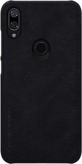 Кожаный чехол для Xiaomi Play Nillkin черный фото