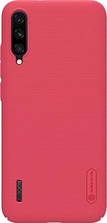 Пластиковая накладка для Xiaomi Mi А3 Nillkin красная фото