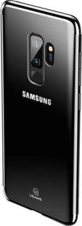 Силиконовая накладка для Samsung Galaxy S9 Plus Usams Kingdom Series черный кант недорого