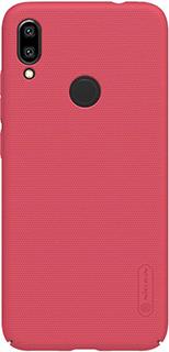 Пластиковая накладка для Xiaomi Redmi Note 7 Nillkin красная фото