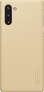 Пластиковая накладка для Samsung Galaxy Note 10 Nillkin золотая фото