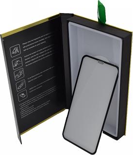 Защитное стекло для Samsung A70 Cabal Premium полноэкранное черное фото